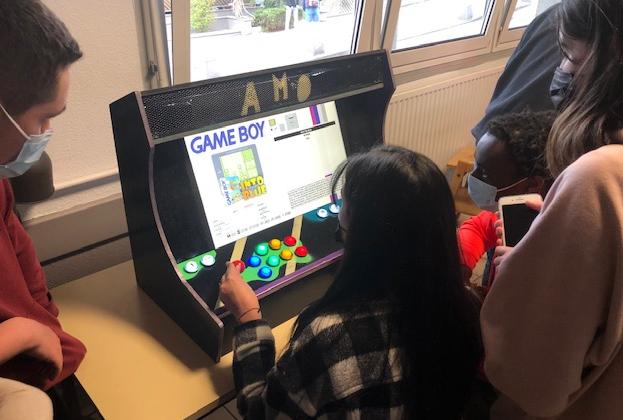 Spécialité NSI: Borne d'Arcade