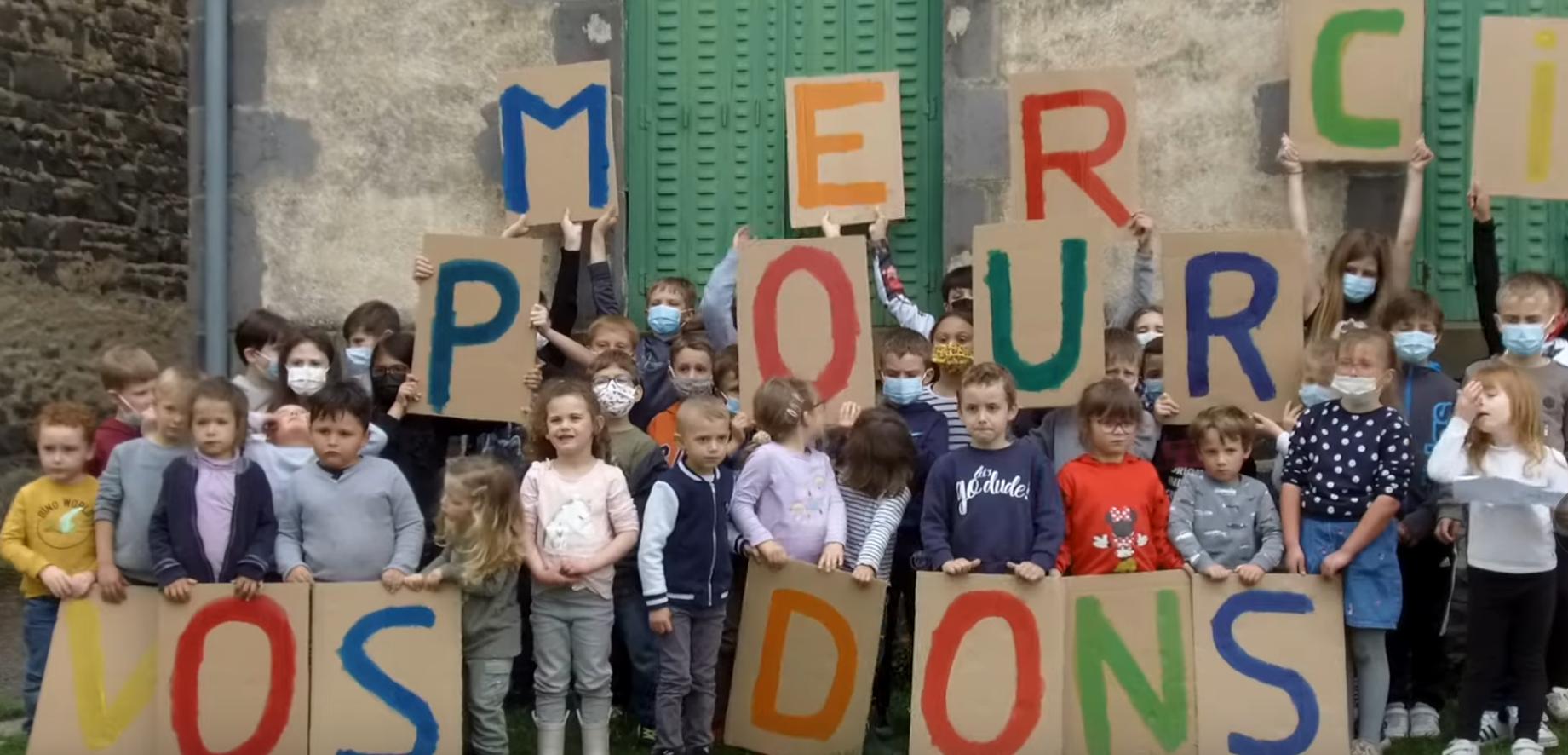 Une campagne de dons pour l'école St Joseph de Saint Bonnet près Riom