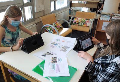 Des enfants engagés  pour la défense de leurs Droits au collège Ste Thècle