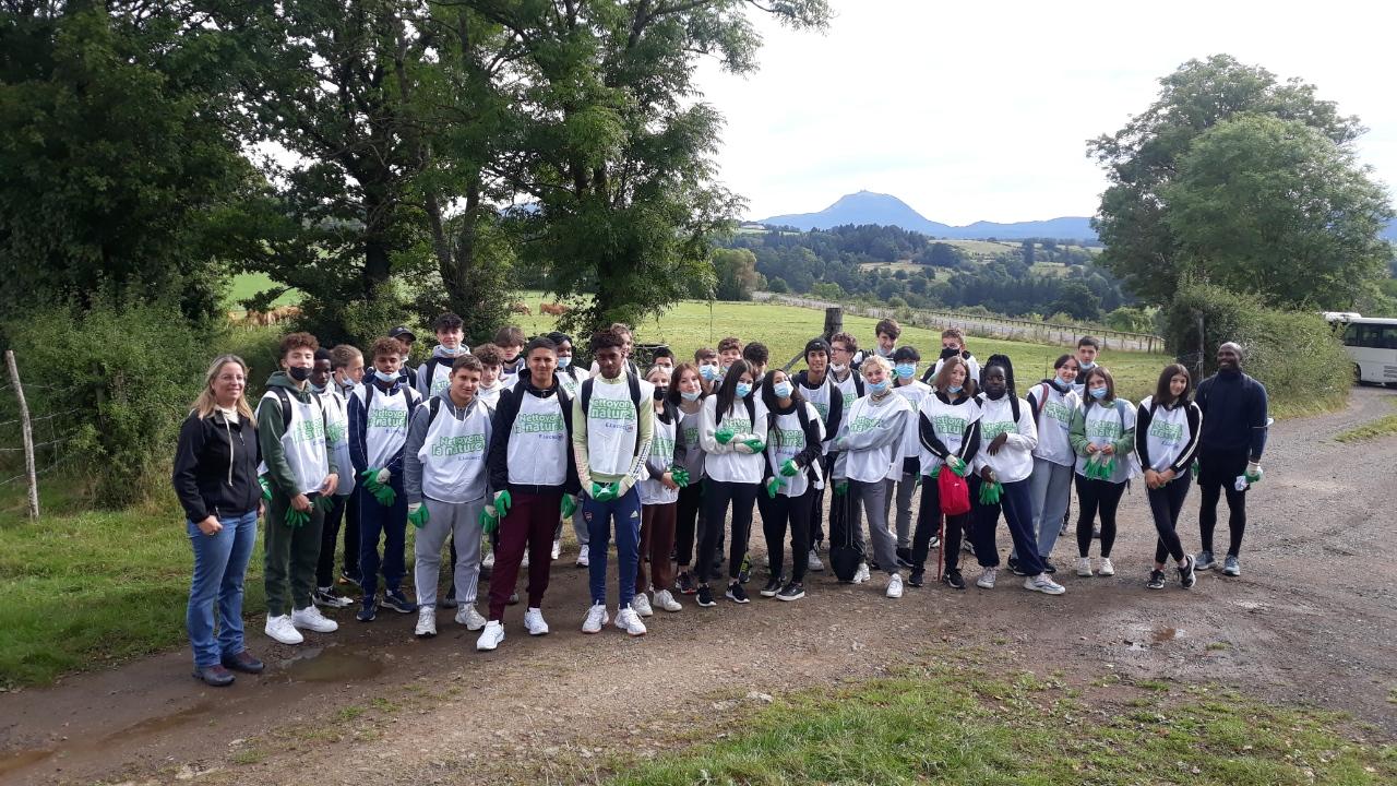 Les élèves de Seconde se mobilisent à l'Ensemble scolaire La Salle Clermont-Ferrand