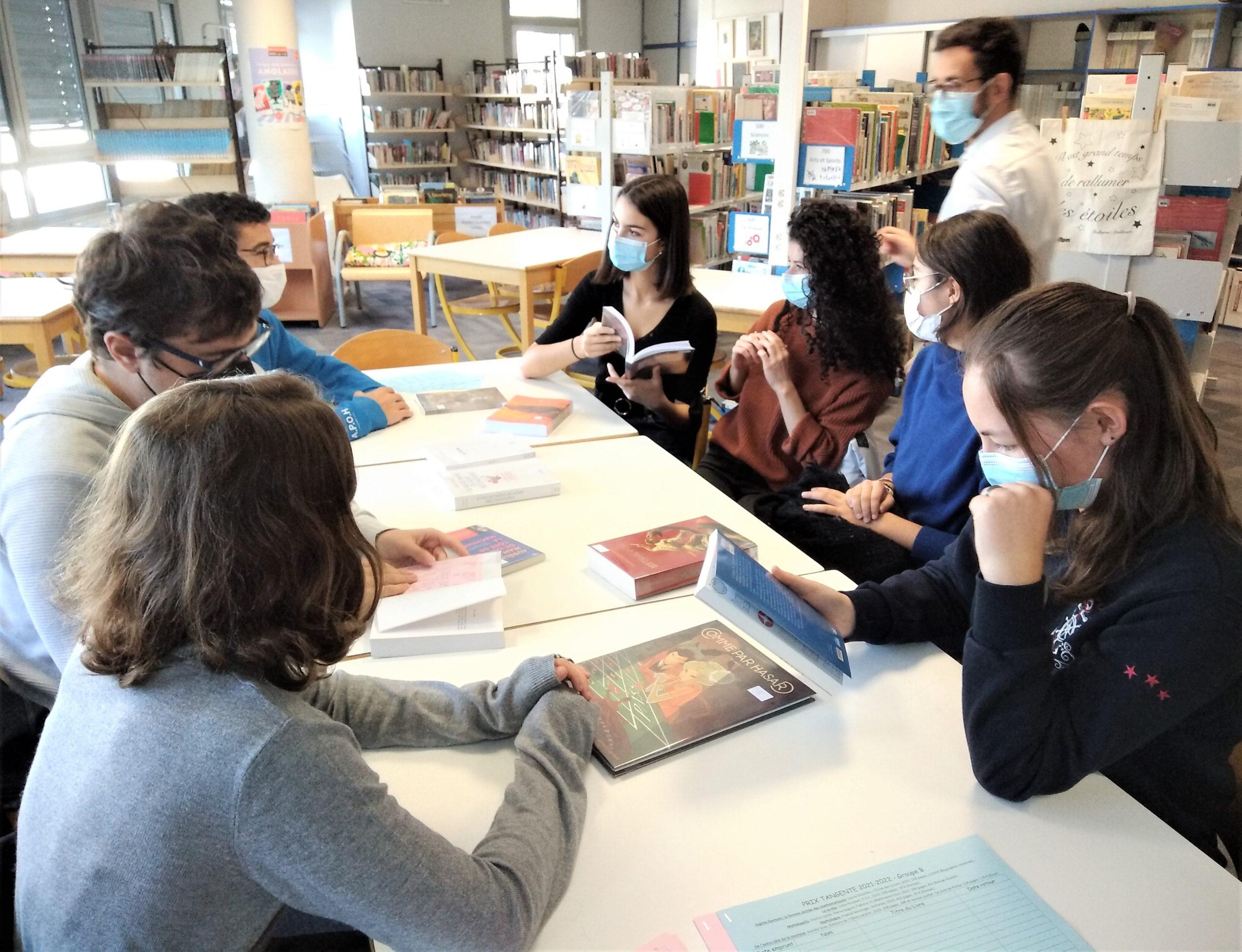 Lancement du Prix Tangente des Lycéens